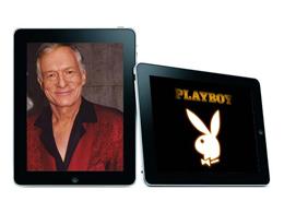 iPad Playboy magazin